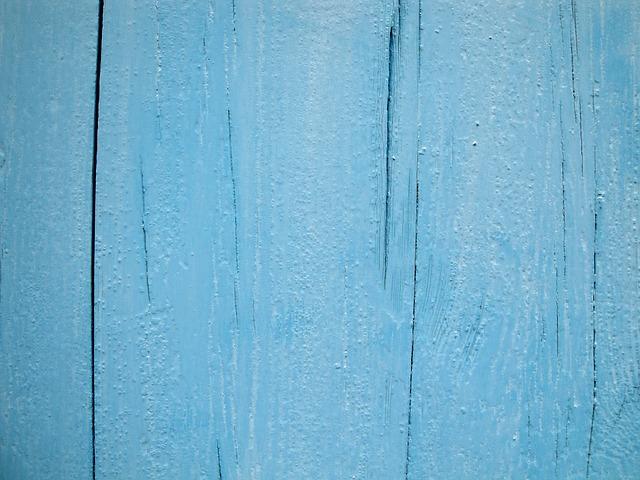 תמונות רקע - גדר עץ צבע כחול