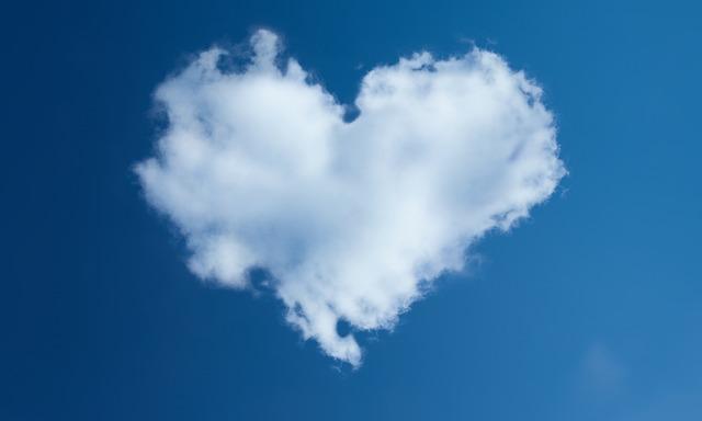 תמונות של לבבות - ענן לב